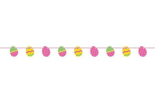 Easter Egg Garland