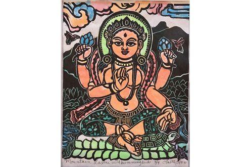 Laxmi Goddess - Art