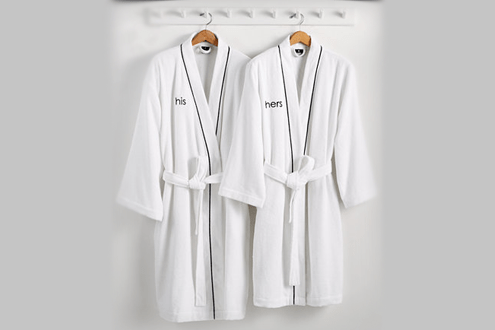 Hotel Collection His or Hers Robe