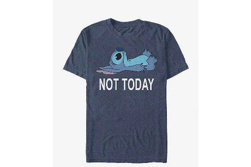 No Today Lilo & Stich shirt