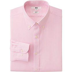 Pink Oxford Long Sleeve Shirt