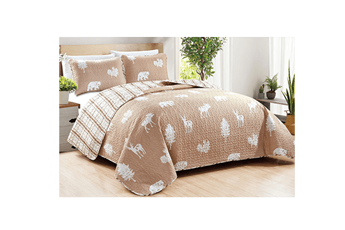Rio Ridge reversible quilt set