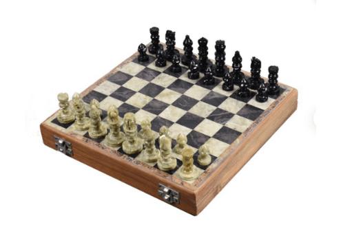 Soap stone chess
