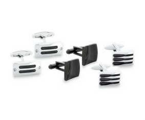Domain Gents' Cufflinks - Set Of 3