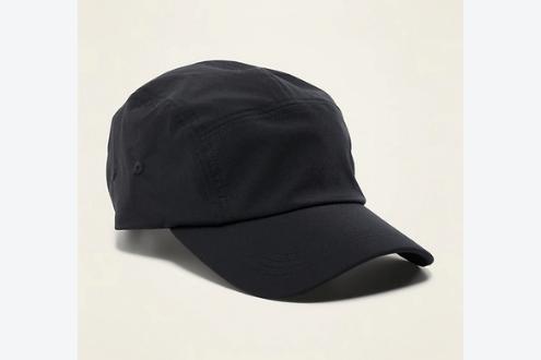 Nylon tech baseball cap for men