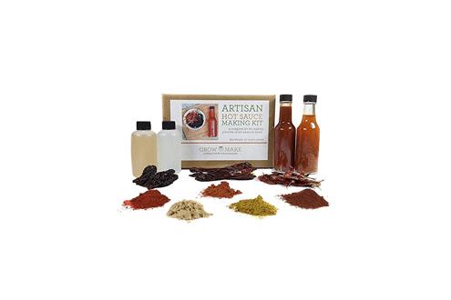 DIY Artisan Gourmet Hot Sauce Kit
