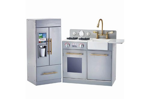 Modern Play Kitchen with Ice Maker