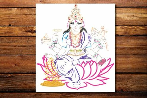 Goddess of Wealth (prints)