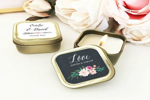 Personalized wedding favors bulk candle favors for wedding guests