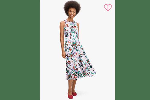 Fleur Nouveau midi dress