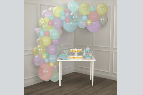Easter balloon garland kit by celebrate it