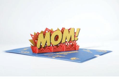 Marvel's avengers legendary mom 3d card