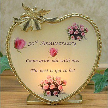 50th Wedding Anniversary Frame
