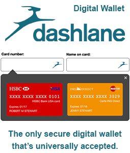 Dashlane Digital Wallet