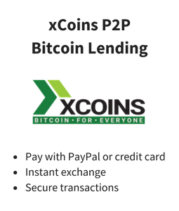Get bitcoin with a credit card at xCoins – March 2021 review