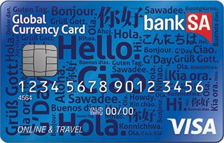 BankSA Global Currency Card - DISCONTINUED
