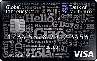 Bank of Melbourne Global Currency Card - DISCONTINUED
