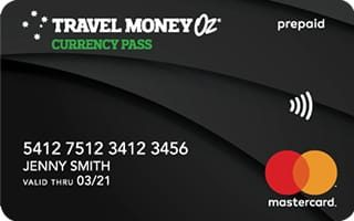 Travel Money Oz Currency Pass Card Review
